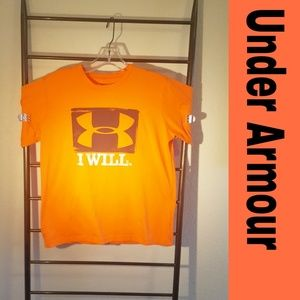 Under Armour Boys T-shirt - I Will - 💥